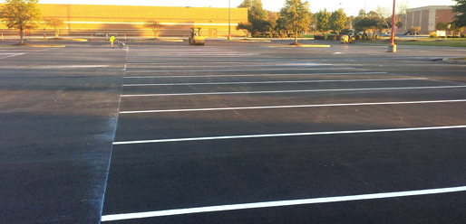 Strictly-Striping-parking-lots